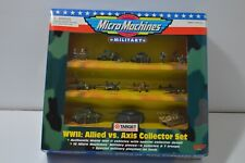 1998 Target exclusive Micro Machines WWII Allied vs Axis Collector Set New NIP