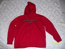 Nice Men's RED Aeropostale Hoodie Jacket Sz LARGE Must See & Buy