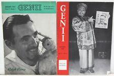 1940s Magic Magazines 2 - Genii & 3 – Sphinx ~ Sorcar, Arenholz, Pierce, Dorny