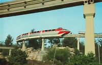 Postcard Monorail Disneyland California