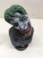 Joker Bust Statue Hand Made Horror Art Sculpture Batman Villain Dc Comics