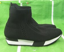new SHIEKH black  Women's Iva Sneaker SOFT breathable flexible sexy Size 8.5