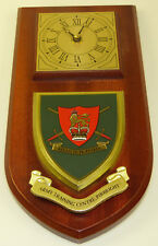 ARMY TRAINING CENTRE PIRBRIGHT CLASSIC HAND MADE TO ORDER  WALL CLOCK