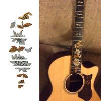 Butterflies Over Flower Guitar Bass Inlay Sticker Fretboard Marker DIY Decal ~J#