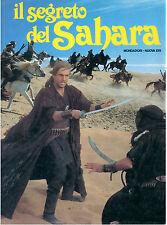 LEOCATA MARIO IL SEGRETO DEL SAHARA MONDADORI 1987 AVVENTURA TV EMILIO SALGARI