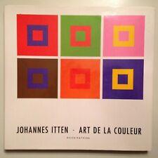 JOHANNES ITTEN ART DE LA COULEUR DESSAIN & TOLRA - 1988