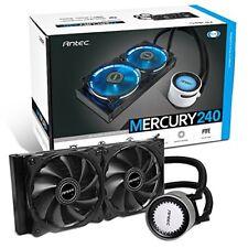 Antec Mercury 240 All in One CPU Liquid Cooler 240mm Radiator 12cm PWM Fan