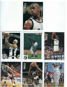 1994-95 Collector's Choice Complete Set 1 -210 Cards 2 Jordan, 3 Shaq's