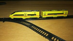 1:87 Train Set and Plastic Railroad 5.5m lines & radiuses and cross and 4 turns