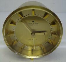 mid century clock Tischuhr elektromechanische Junghans ATO-MAT S Tisch Uhr 60er