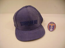 SCORPION BAY BERRETTO CAPPELLINO AMC2956 BASEBALL CAP NAVY BLU MELANGE