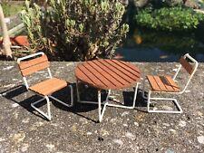 Gartenmöbel Lundby 1967 Puppenstube Puppenhaus 1:18 dollhouse garden furniture