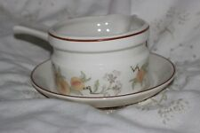 Wedgwood Gravy Boat with Handle and Saucer