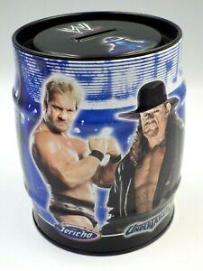 Tirelire métal WWE Smackdown catch objet collector Wwe Entertainment 2009