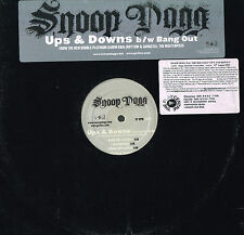 SNOOP DOGG Ups & Downs PROMO VINYL R&G: The Masterpiece BANG OUT Geffen USA 2005
