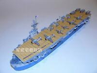 CV-11 Aircraft Carrier Handcraft Paper Model Kit a 1:400 Scale USS Intrepid