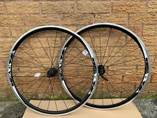 4ZA / Forza RC31 700C Wheels Wheelset Front Rear Shimano 8/9/10 Hubs White Decal