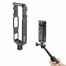 Ulanzi Metal Vertical Shooting Rabbit Cage w/ Cold Shoe for Insta 360 One R