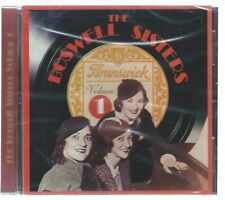 CD: The BOSWELL SISTERS - Volume 1  (NEW)