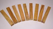 penblanks,10 pièces Canary bois,bois de tournage,noble ,pour bricolage,bijoux