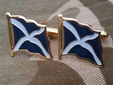 Scottish Flag Cufflinks Scotland