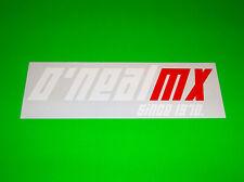 ONEAL MX GLOVES BOOTS HELMET JERSEY PANTS MOTOCROSS ATV APPAREL STICKER DECAL