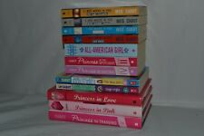 12 Books By Meg Cabot 5 Princess Diaries 4 1-800-WHERE-R-YOU 2 Allie Finkle
