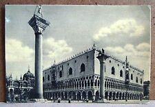Venezia - le colonne di S.Marco e Todero [grande, b/n, viaggiata]