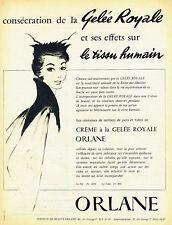 Publicité Advertising 098  1955  Institut beauté Oelane  Gelée Royale cosmétique