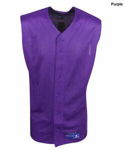 New Mizuno EIGHT Youth 2-Small 2-Mediun 2-Large 2-XL Sleeveless Baseball Jerseys