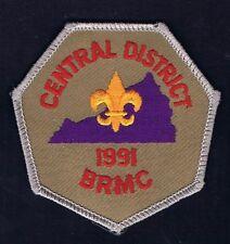 Central Distric 1991 BRMC GRY Brd TAN Bkg YEL FDL 200803