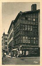 France Macon - Maison de bois old sepia postcard
