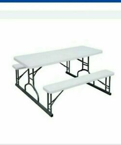 """6""""Foot picnic table with 2 benches"""