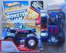 2013 Hot Wheels Monster Jam Thrasher Spectraflames 1:64 Truck Crush Car Series