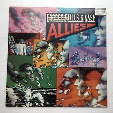 CROSBY, STILLS & NASH Allies ATLANTIC LP VG+ RARE PROMO LP CUSTOM LINER