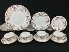 Minton Ancestral 20-Piece Dinnerware Set for 4 Red Brown Turquoise Autumn #A