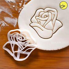 Rose Flower cookie cutter | roses petals flowers botanical rosa Rosaceae biscuit