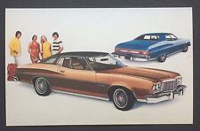 1975 FORD GRAN TORINO BROUGHAM promotional postcard (for dealers use).ever have?