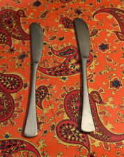 2 WMF Fraser Cromargan Finesse GERMANY Butter Spreaders Stainless Flatware