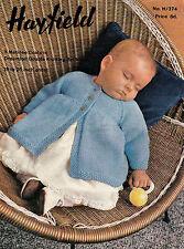 Baby Matinee Coat in DK Knitting Pattern 0165