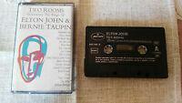 ELTON JOHN Bernie Taupin Two Rooms Tape Kassette 1991 Spanisch Ed Mercury