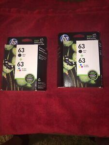 HP 63 (L0R46AN ) Ink Cartridge (2)