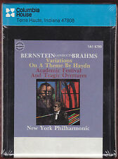 '78 BERNSTEIN Conducts BRAHMS New York Philharmonic  8-Track Tape FACTORY SEALED