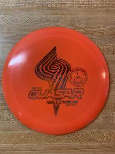 Millenium Golf Discs First Run Quasar Standard Plastic 172 Grams Used