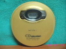 Discman Walkman reproductor de CD SONY modelo D-EJ611 Stereo portable CD Player.