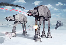 Fototapete Kindertapete Star Wars BATTLE OF HOTH 368x254cm Cartoon Sci-Fi Komar