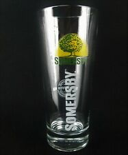 "Somersby Danish Cider Glass With Tree logo ( Beer Glass ) 7""- Multiple Available"