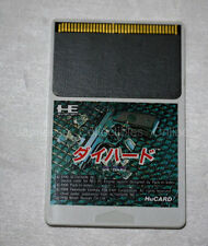 NEC PC ENGINE Hu card DIE HARD Japan (card only) TG16 duo gt pack in video