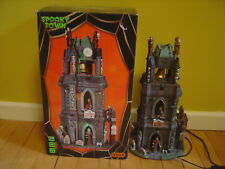 Spooky Town Bloody Belfry Halloween Works Free Ship!
