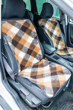 1 x New 100% Natural Hypo-Allergenic Merino Wool Car Seat Office Chair Cover